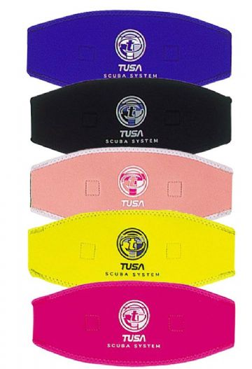Tusa - Neoprene Mask Strap / Slap Cover - Scuba, snorkel - Colours available